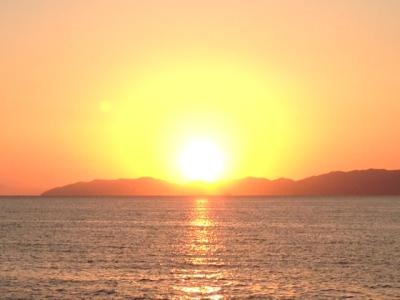 佐多岬の夕日①