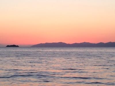 佐多岬の夕日②