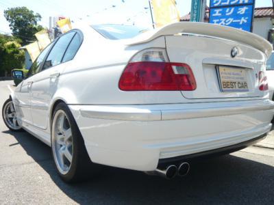 BMW 325i Mスポーツ ザックスパフォーマンスキット スーパースプリントマフラー