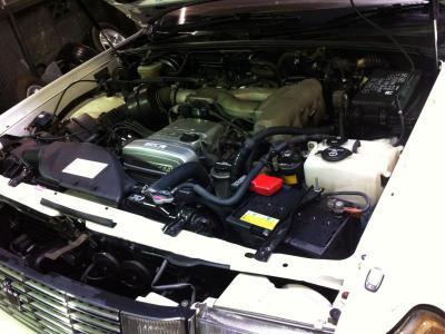 13系クラウン ロイヤルサルーン 1JZエンジン