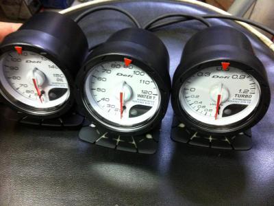 デフィ CR ブースト計 油温計 水温計