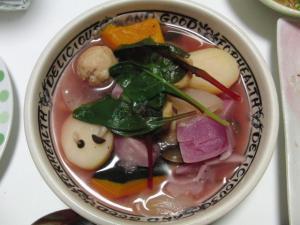 赤カブスープ