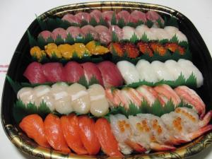 お寿司2011元旦
