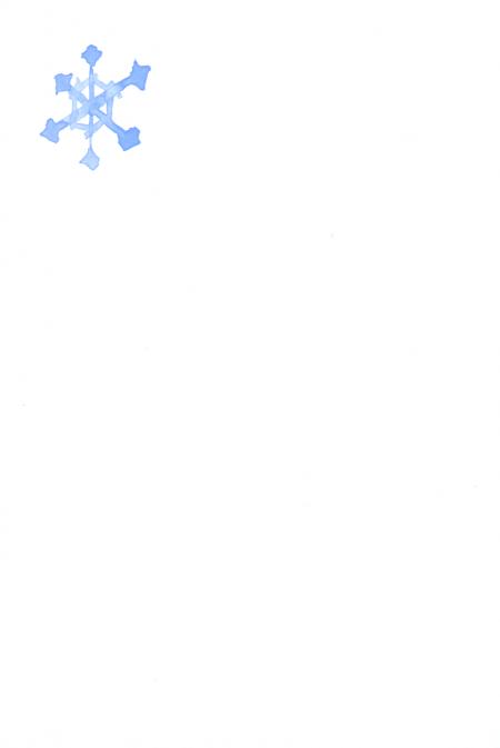 冬のお手伝い 裏