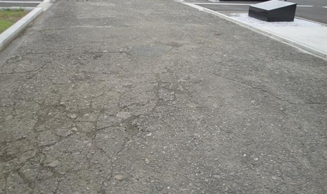 滑走路跡2