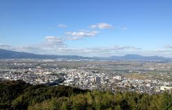 高良山からの眺め