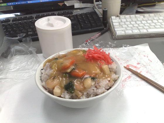 中華丼(弁当)