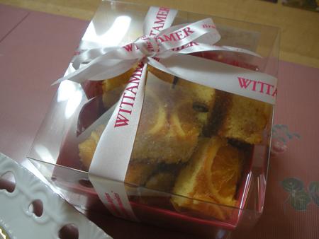 ヴィタメールのオレンジケーキ
