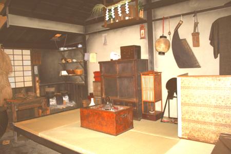 深川江戸資料館木挽き職人の長屋