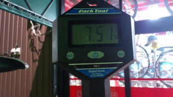 体重測定 結果