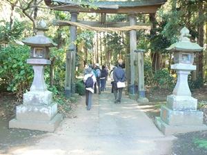 鳥見神社(ブログ)