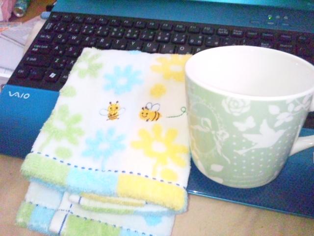 綾乃ちゃんからのカップ
