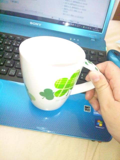 みおちゃんからのカップ