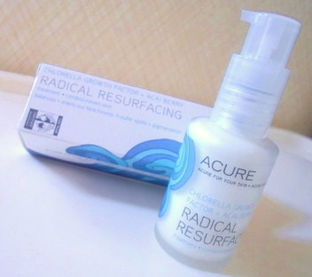 Acure treatment