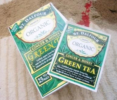 Stジンジャー緑茶