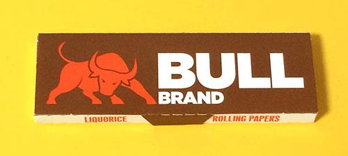 BULL-BRAND_LIQUORICE BULL-BRAND_LIQUORICE ブルブランド・リコリス ブルブランド 手巻きタバコ 巻紙 ローリングペーパー RYO