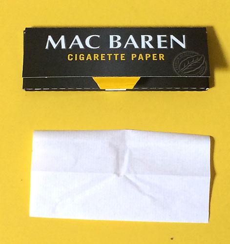 手巻きタバコ 巻紙 ローリングペーパー CHOICE チョイス MAC_BAREN マックバレン RYO