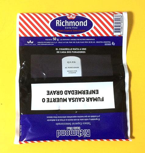 Richmond アルゼンチンのシャグ RYO 手巻きタバコ