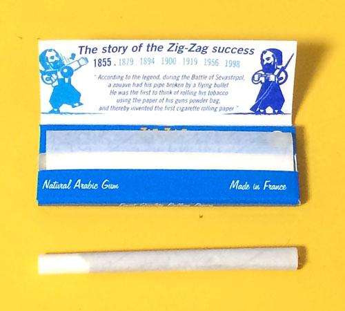 ZIG-ZAG-BLUE ジグザグ・ブルー ZIG_ZAG ジグザグ 手巻きタバコ 巻紙 ヘンプペーパー RYO