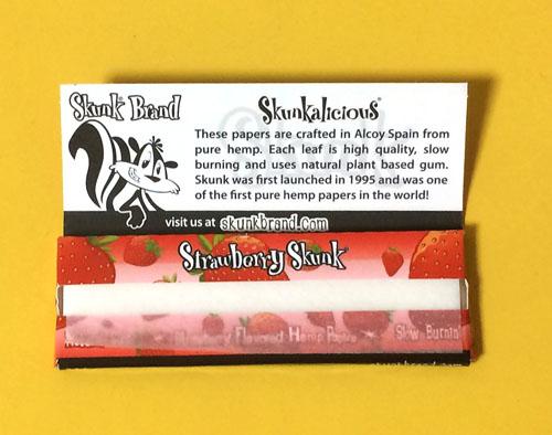 strawberry_skunk, skunk ストロベリー・スカンク スカンク 手巻きタバコ 巻紙 ペーパー 極薄 フレーバー RYO