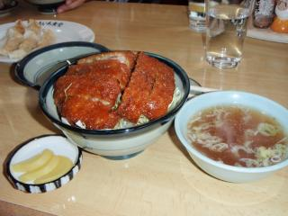 カツ丼 ソース