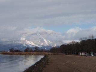 磐梯山 雪