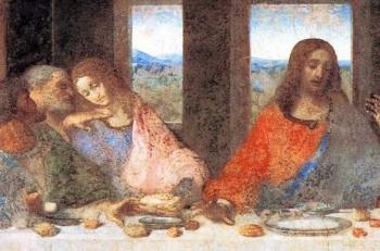 レオナルド・ダ・ヴィンチ作『 最後の晩餐』
