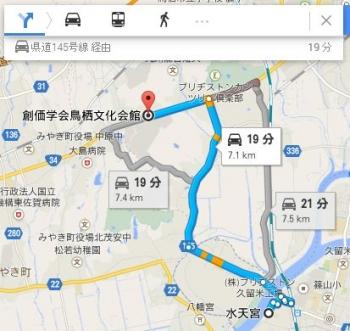 map福岡県久留米市瀬下町265車で十数分