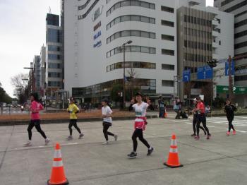 名古屋マラソン観戦
