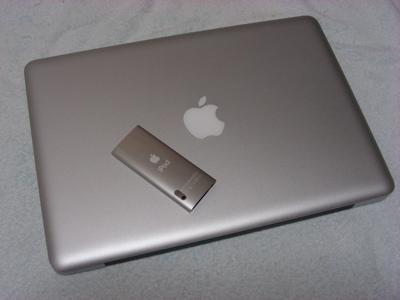iPodとMacbookPro01