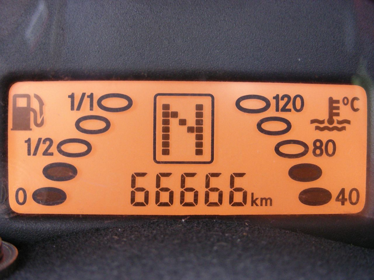 66666キロ