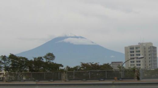 富士山の初雪