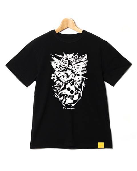 チャリティ Tシャツ黒