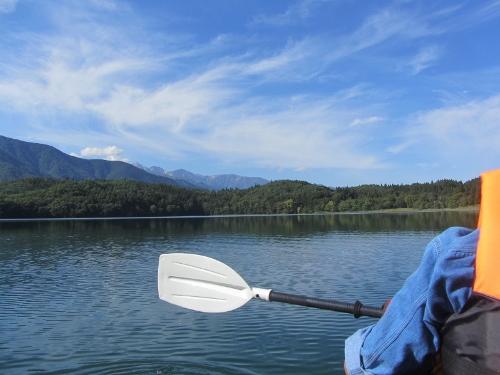 9月23日青木湖にて (2)