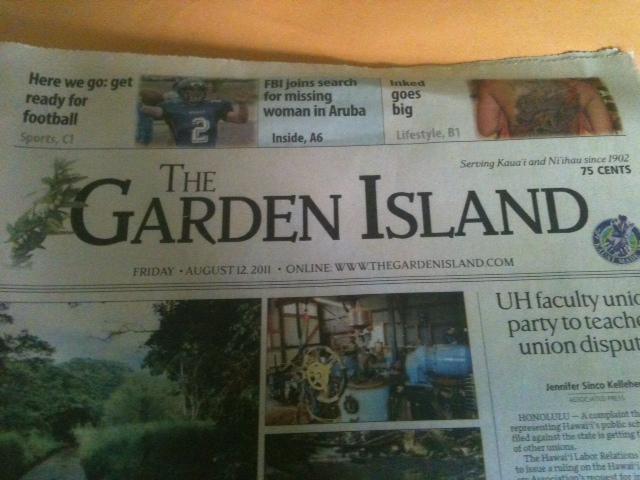 The Garden Island August 12, 2011