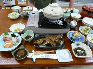 きくち夕食1