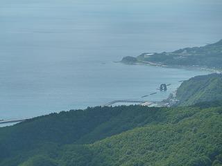 球島山からの景色
