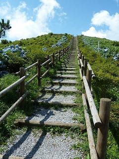 球島山階段