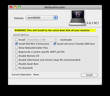 NetBook Installer 0.8.3 RC5
