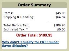 Amazon.com最安値の結果