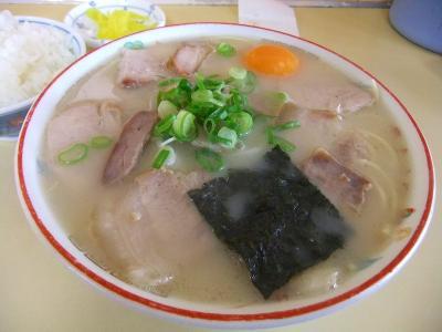 中華そば 肉玉子入り(小)