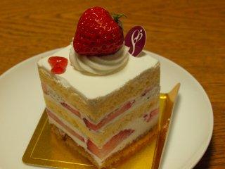 sソワンのイチゴショートケーキ1