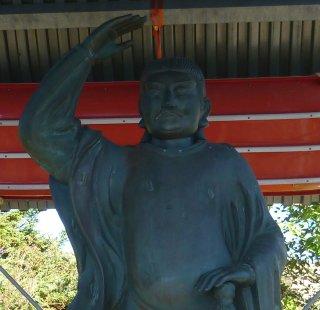 s前武尊の日本武尊像