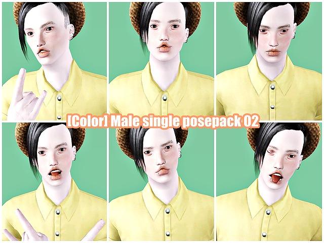 Male single posepack02-a