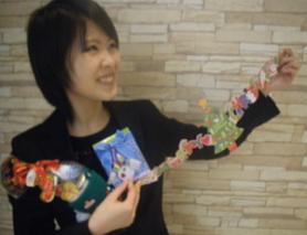 飯田さんとプレゼント