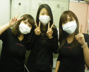マスク3人娘