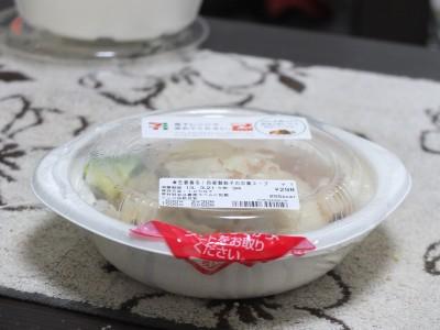 夜食の餃子スープ(薬)