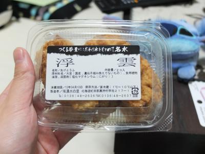 空飛ぶ豆腐こと浮雲