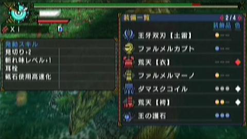夜会×双剣(12分23秒)装備