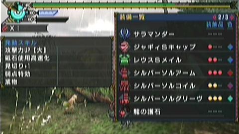 双尾槌×双剣(12分57秒)装備